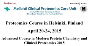 ProteomicsCourseHelsinki-2015